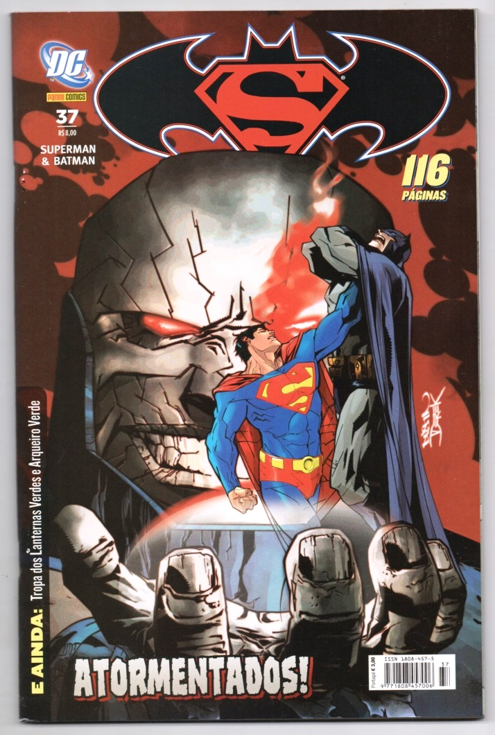SUPERMAN & BATMAN nº037 - EDITORA PANINI