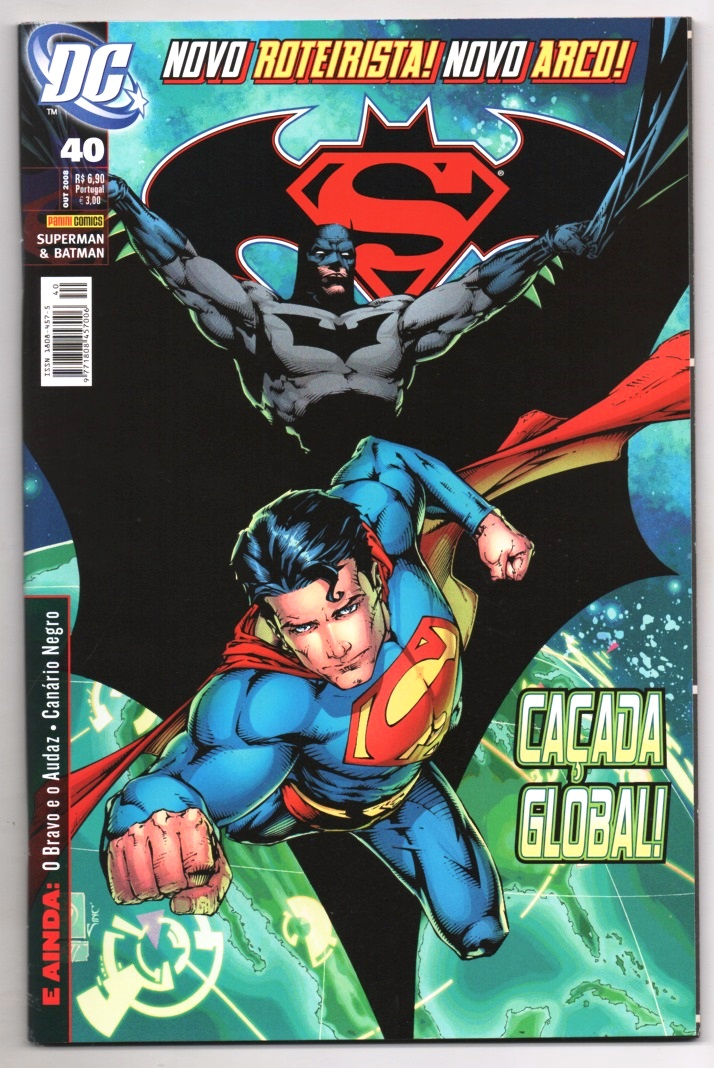 SUPERMAN & BATMAN nº040 - EDITORA PANINI