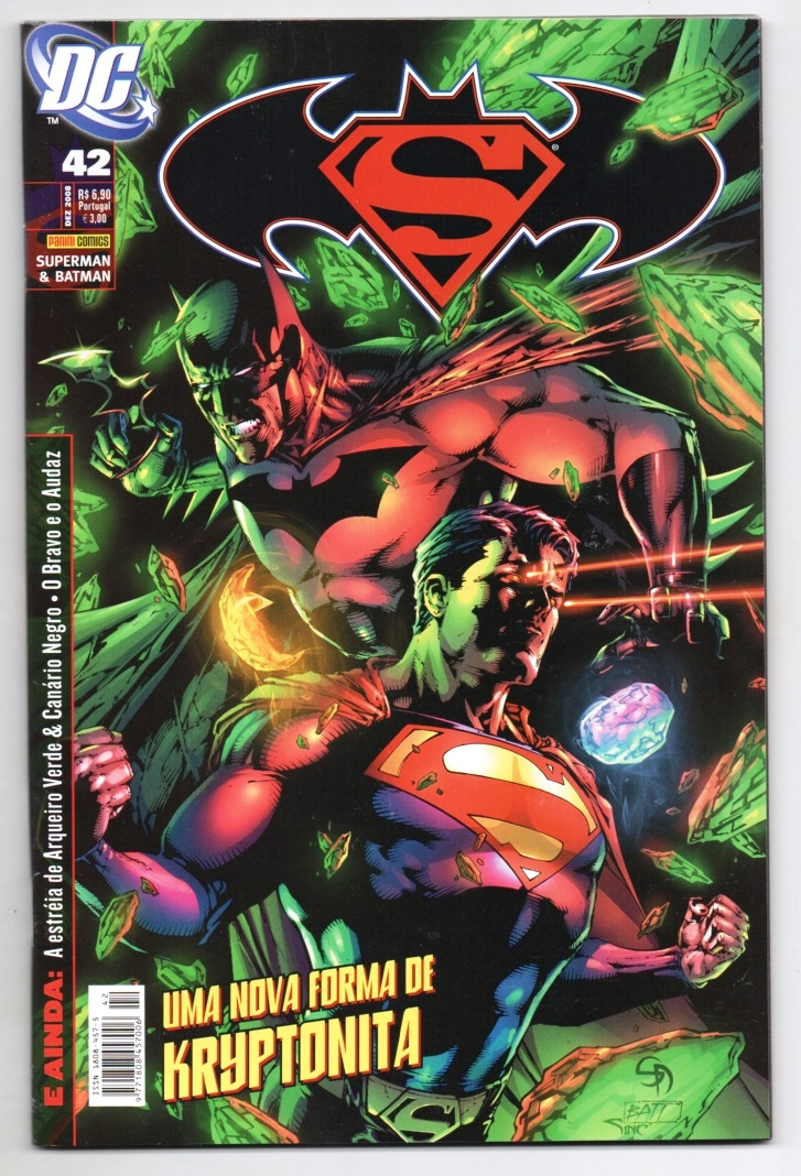 SUPERMAN & BATMAN nº042 - EDITORA PANINI