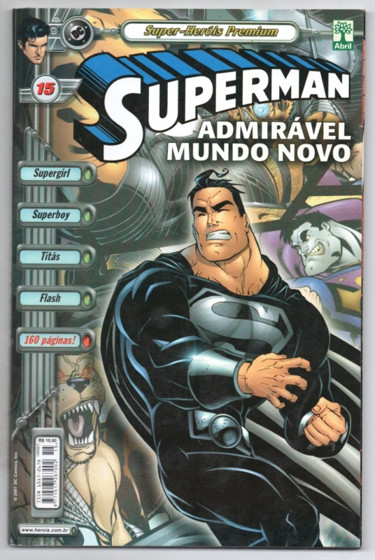 SUPERMAN PREMIUM n°15 - EDITORA ABRIL