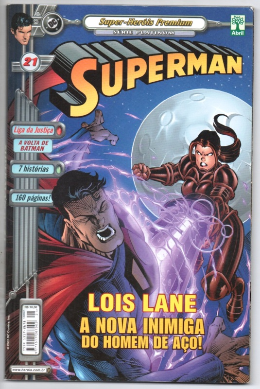 SUPERMAN PREMIUM n°21 - EDITORA ABRIL