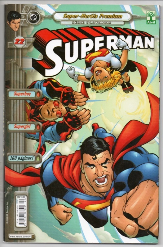 SUPERMAN PREMIUM n°22 - EDITORA ABRIL