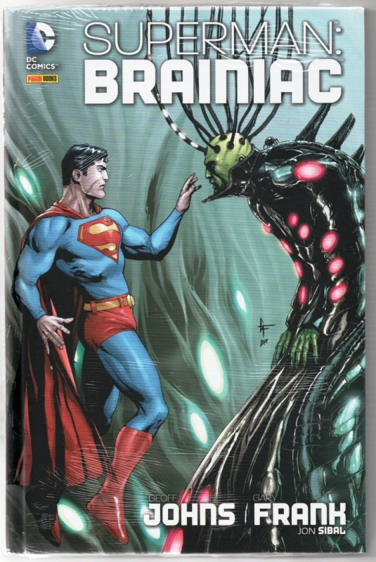 SUPERMAN - BRAINIAC - PANINI