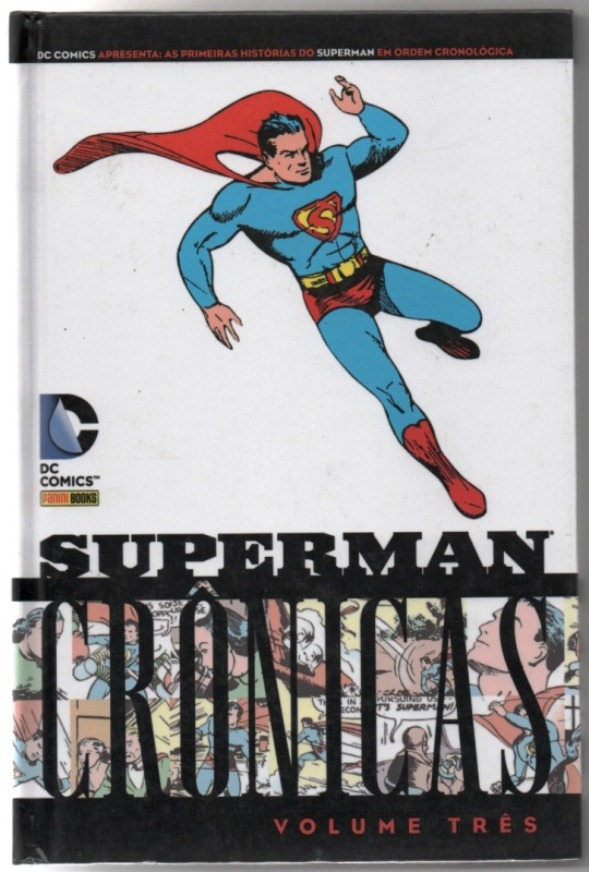 SUPERMAN - CRÔNICAS - VOL. III - PANINI