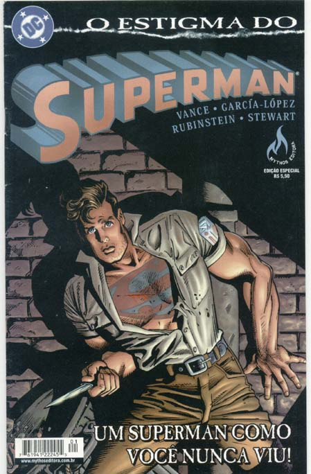 O ESTIGMA DO SUPERMAN - MYTHOS