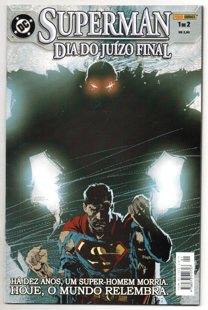 SUPERMAN - DIA DO JUIZO FINAL PARTE 1 - ED. PANINI