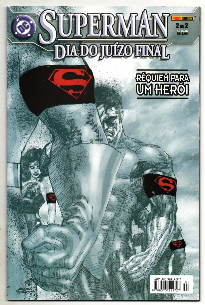 SUPERMAN - DIA DO JUIZO FINAL PARTE 2 - ED. PANINI
