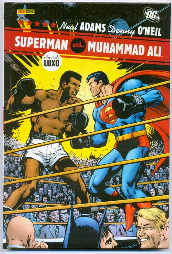 SUPERMAN VS MUHAMMAD ALI - PANINI