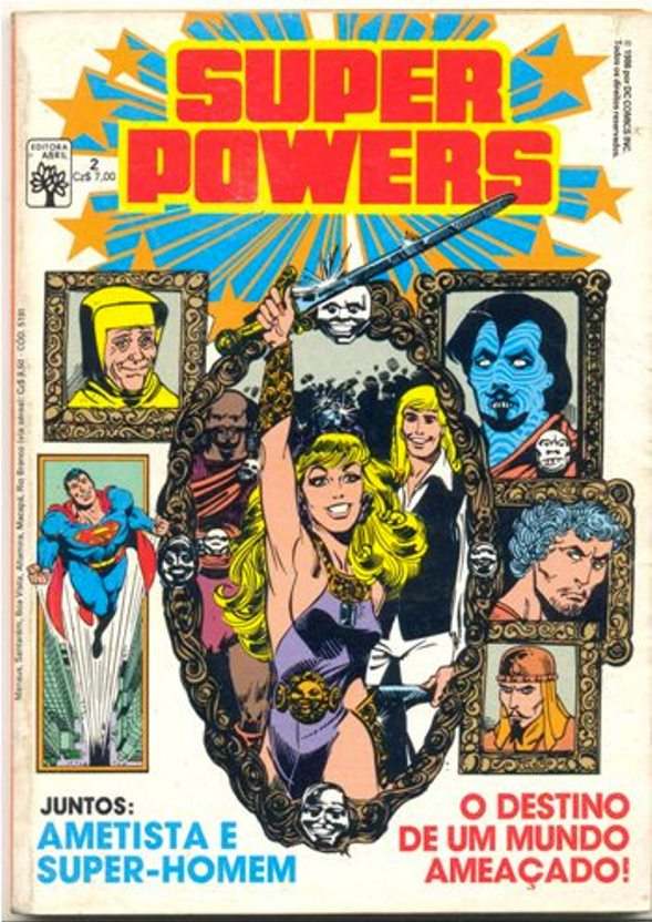 SUPER POWERS nº02 - EDITORA ABRIL