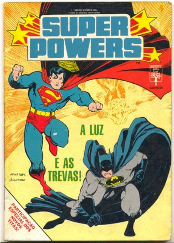 SUPER POWERS nº08 - EDITORA ABRIL