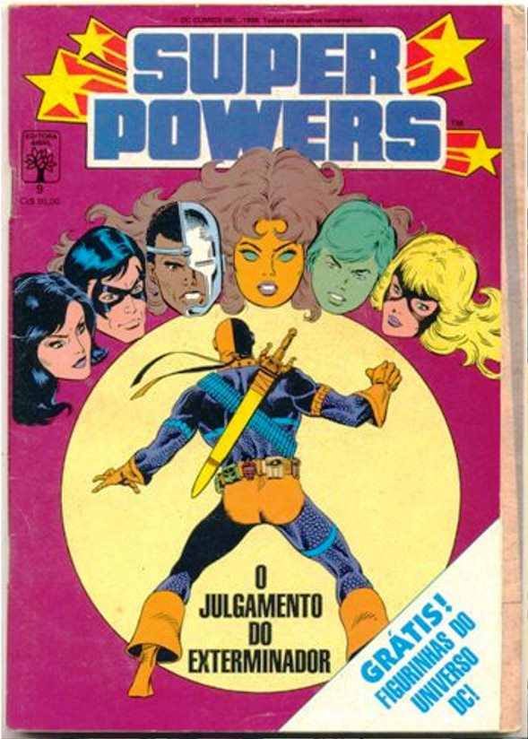 SUPER POWERS nº09 - EDITORA ABRIL
