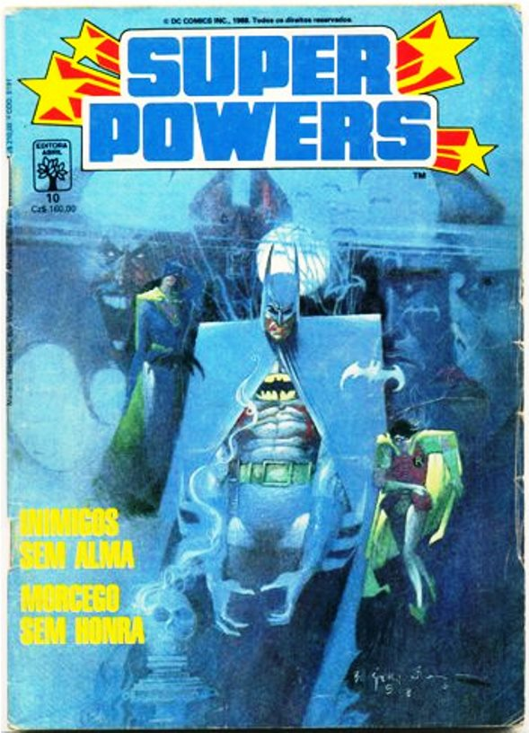 SUPER POWERS nº10 - EDITORA ABRIL