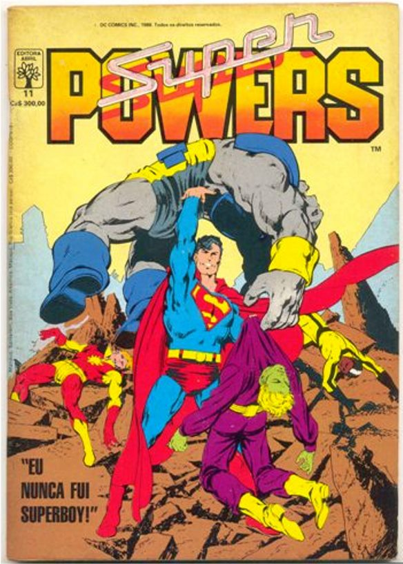 SUPERPOWERS nº11 - EDITORA ABRIL