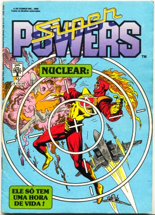 SUPER POWERS nº12 - EDITORA ABRIL