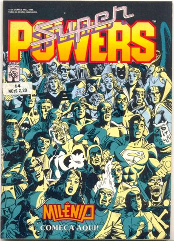 SUPERPOWERS nº14 - EDITORA ABRIL