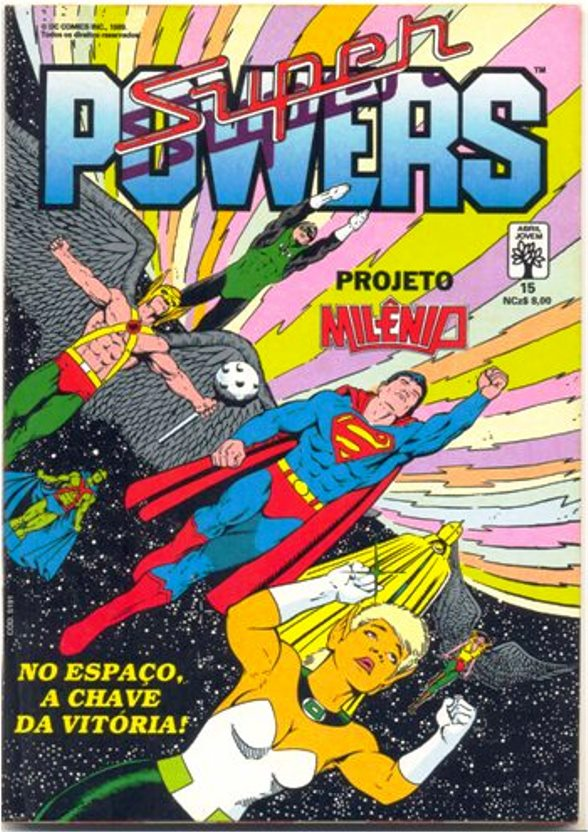 SUPERPOWERS nº15 - EDITORA ABRIL