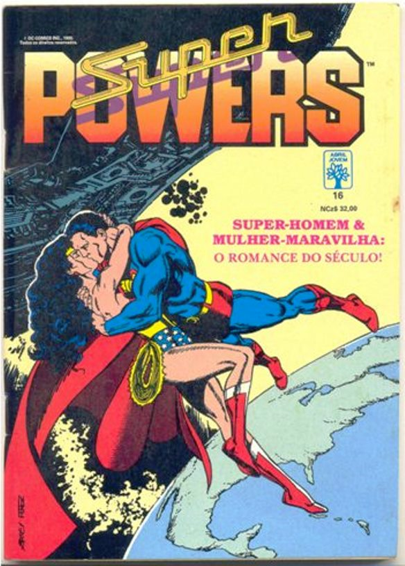 SUPERPOWERS nº16 - EDITORA ABRIL