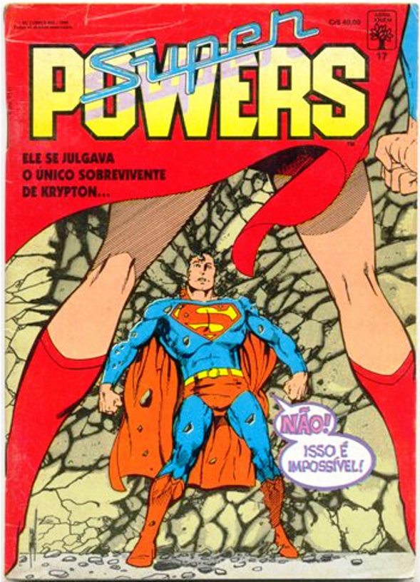 SUPER POWERS nº17 - EDITORA ABRIL