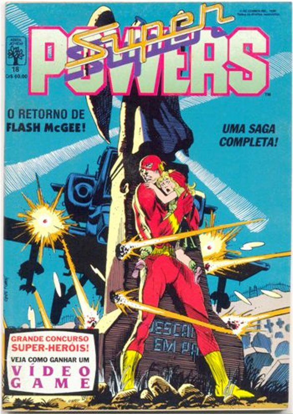 SUPERPOWERS nº18 - EDITORA ABRIL