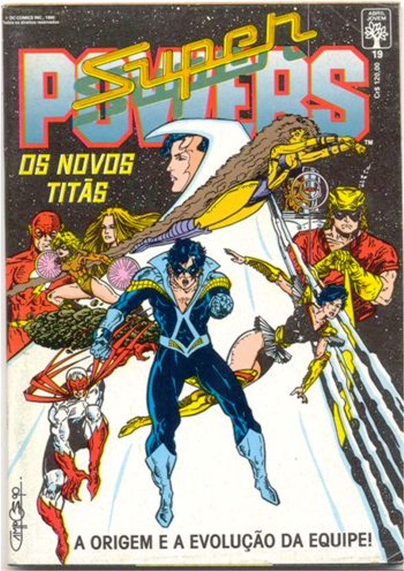 SUPERPOWERS nº19 - EDITORA ABRIL