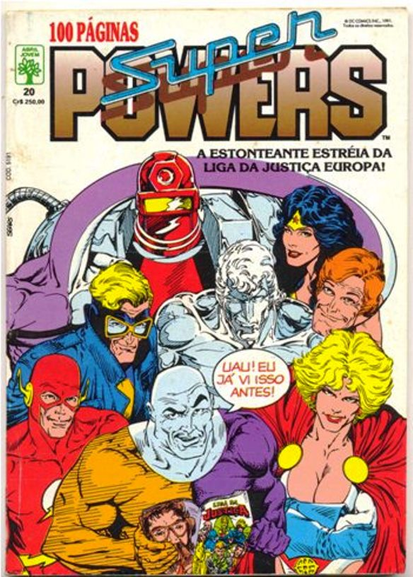 SUPERPOWERS nº20 - EDITORA ABRIL