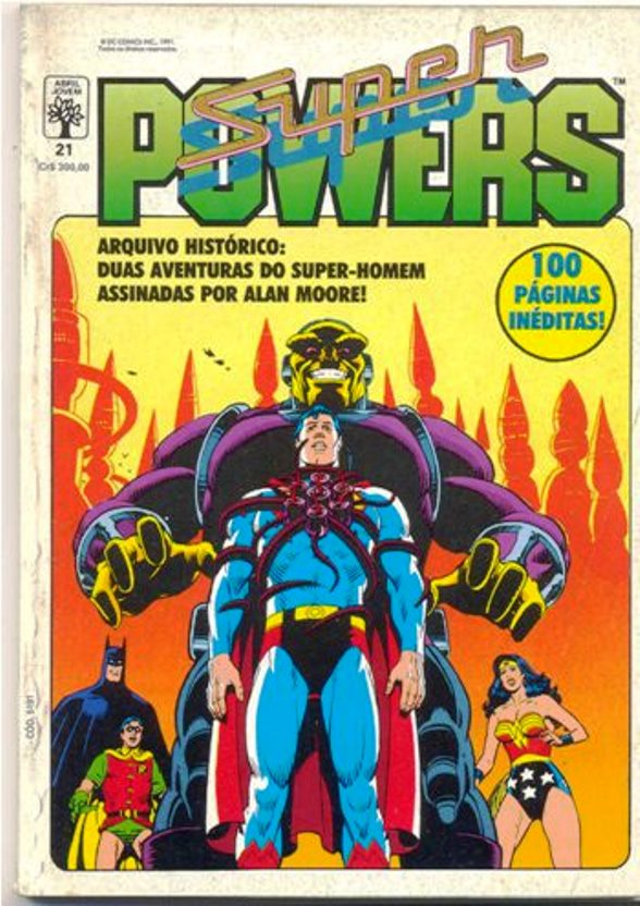 SUPERPOWERS nº21 - EDITORA ABRIL