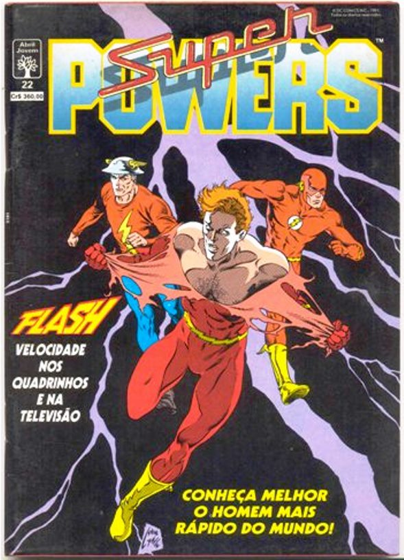 SUPER POWERS nº22 - EDITORA ABRIL