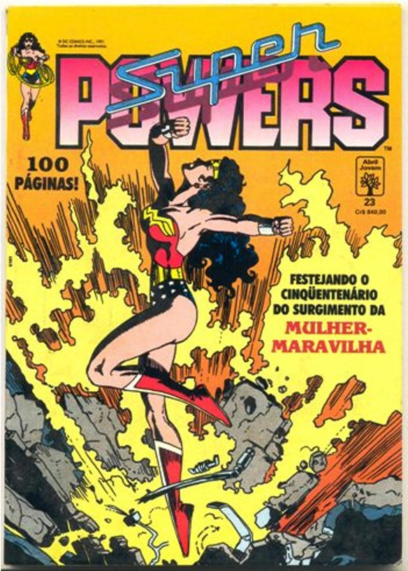 SUPERPOWERS nº23 - EDITORA ABRIL