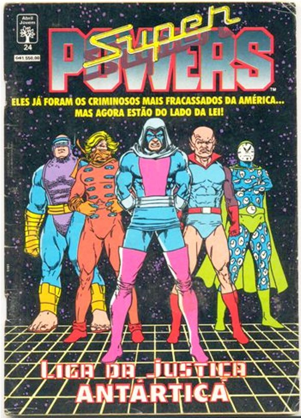 SUPER POWERS nº24 - EDITORA ABRIL