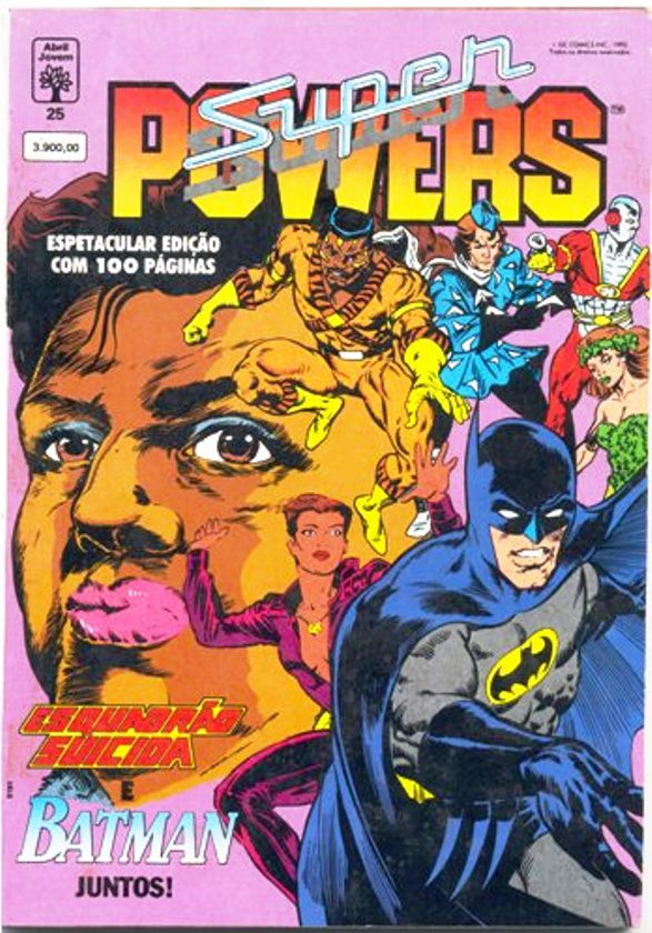 SUPER POWERS nº25 - EDITORA ABRIL