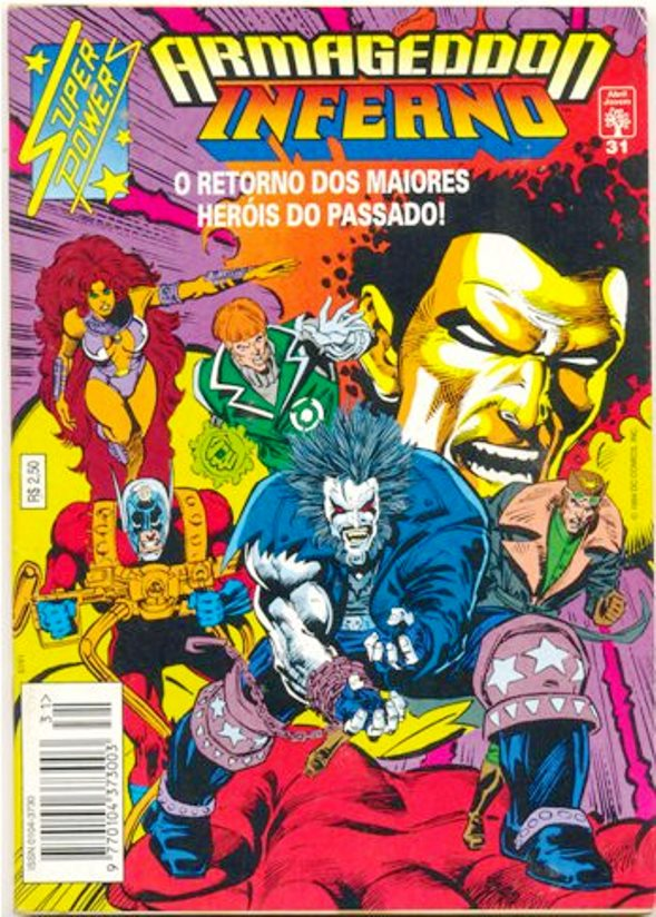 SUPER POWERS nº31 - EDITORA ABRIL