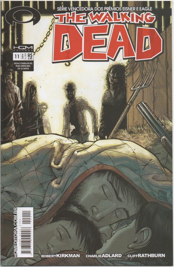 THE WALKING DEAD nº11 - ED. HQM