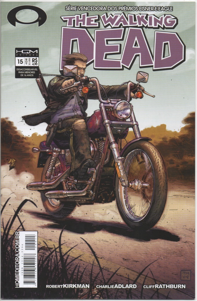 THE WALKING DEAD nº15 - ED. HQM