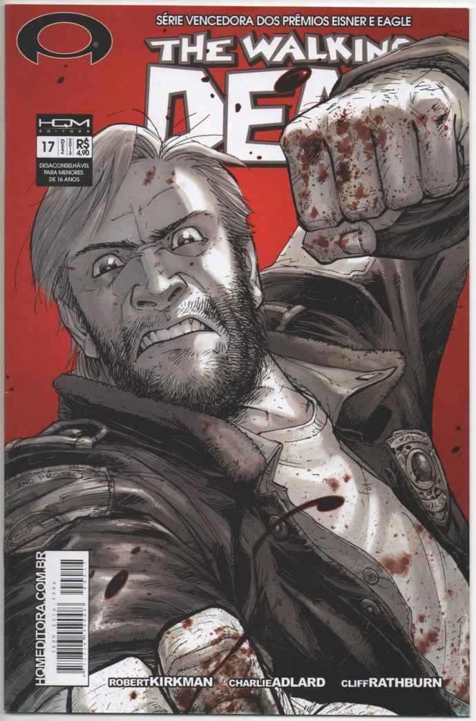 THE WALKING DEAD nº17 - ED. HQM