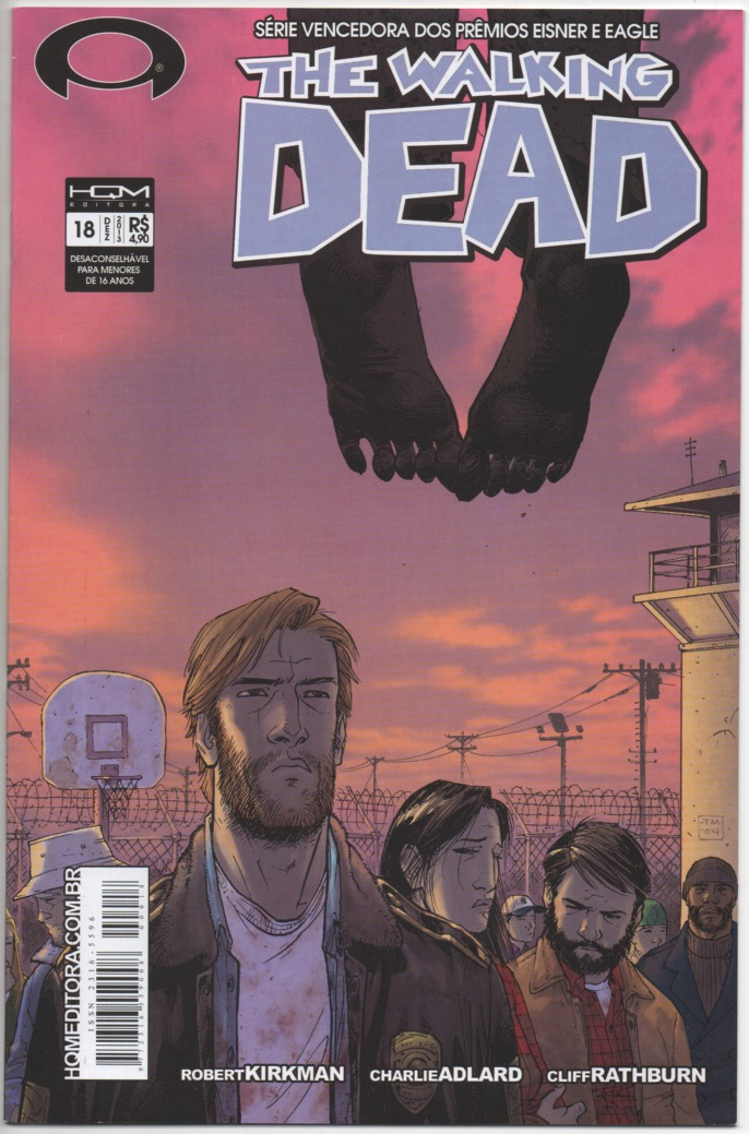 THE WALKING DEAD nº18 - ED. HQM