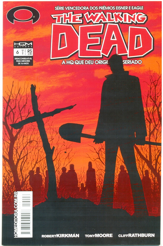 THE WALKING DEAD nº06 - ED. HQM