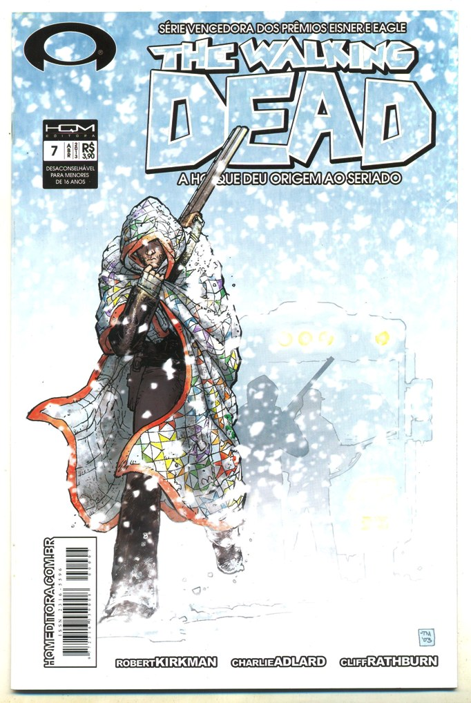 THE WALKING DEAD nº07 - ED. HQM