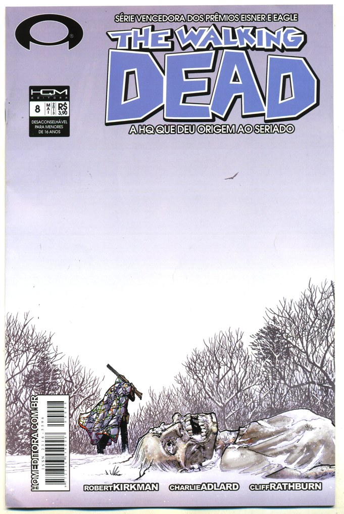 THE WALKING DEAD nº08 - ED. HQM