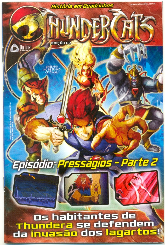 THUNDERCATS nº02 - ED. ON LINE
