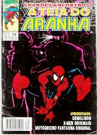 A TEIA DO ARANHA n°070 - EDITORA ABRIL
