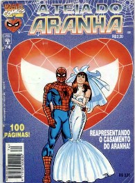 A TEIA DO ARANHA n°074 - EDITORA ABRIL