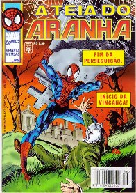 A TEIA DO ARANHA n°086 - EDITORA ABRIL