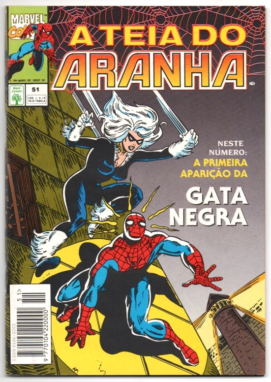 A TEIA DO ARANHA n°051 - EDITORA ABRIL