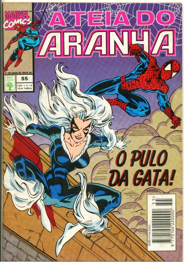 A TEIA DO ARANHA n°055 - EDITORA ABRIL
