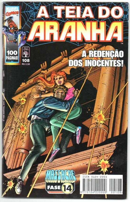 A TEIA DO ARANHA n°108 - EDITORA ABRIL