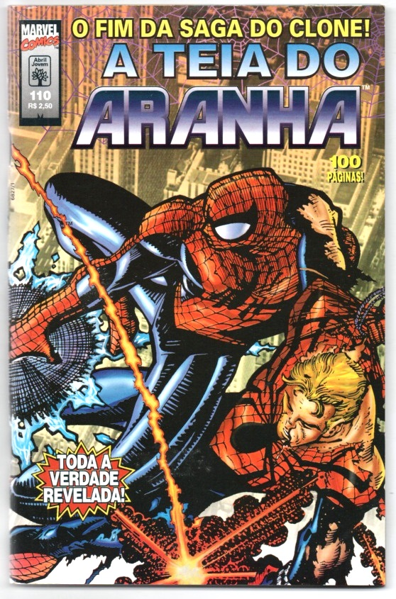 A TEIA DO ARANHA n°110 - EDITORA ABRIL