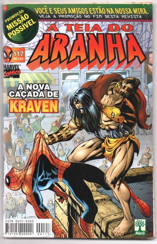 A TEIA DO ARANHA n°117 - EDITORA ABRIL