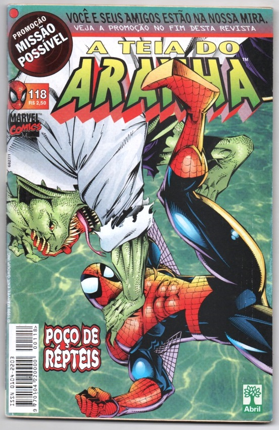 A TEIA DO ARANHA n°118 - EDITORA ABRIL