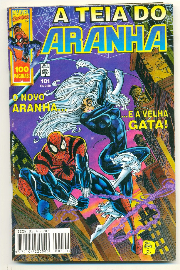 A TEIA DO ARANHA n°101 - EDITORA ABRIL
