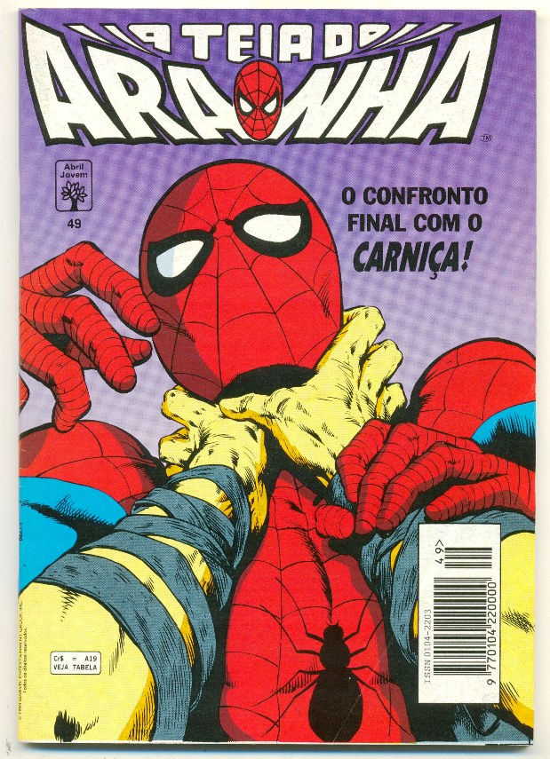 A TEIA DO ARANHA n°049 - EDITORA ABRIL